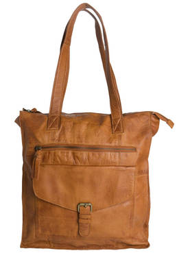 Pieces Abby Leather Shopper - Olkalaukut - 5713618760338 - 1