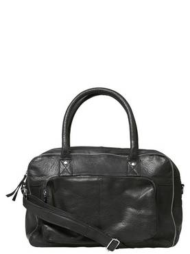 Pcallison Leather Bag CLW - Olkalaukut - 17085689BLACK - 1